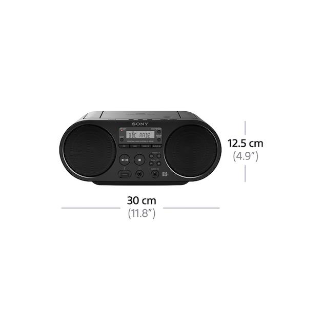 Sony ZS-PS55 zwart