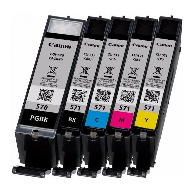 Canon PGI-570 en CLI-571 multipack Zwart/multicolor