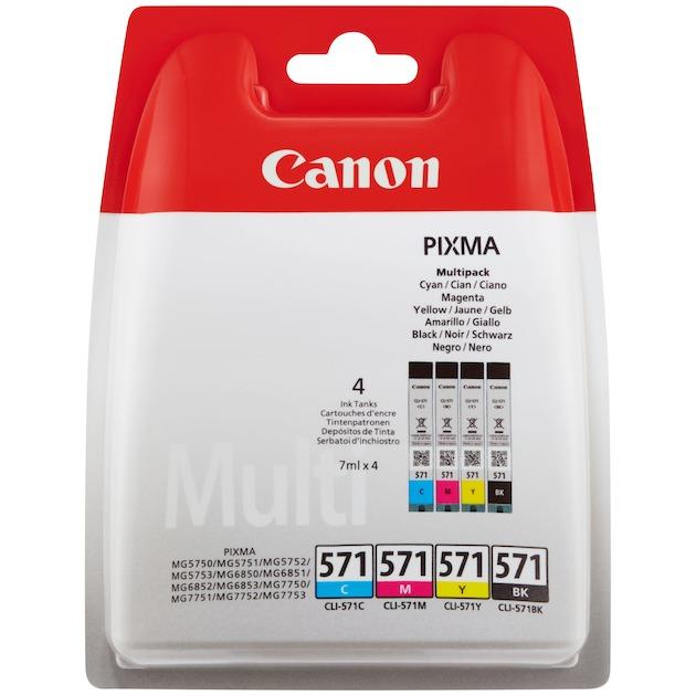 Canon CLI-571 multipack Zwart/multicolor