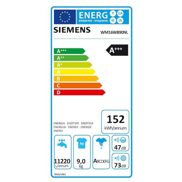 Siemens WM16W890NL
