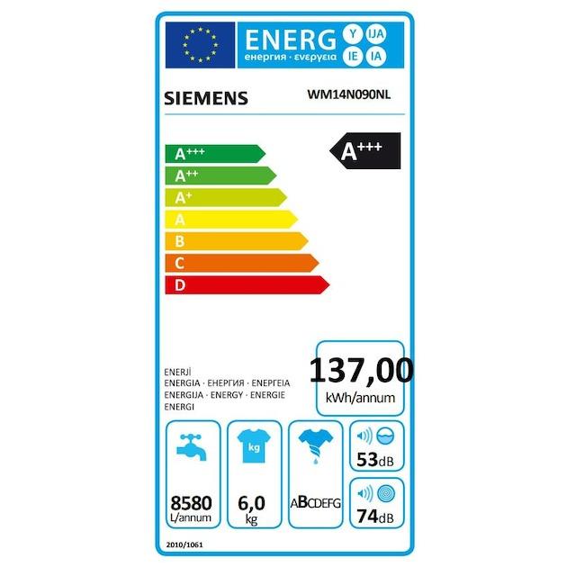 Siemens WM14N090NL