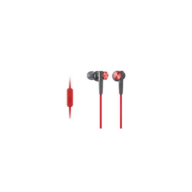 Sony MDR-XB50AP rood