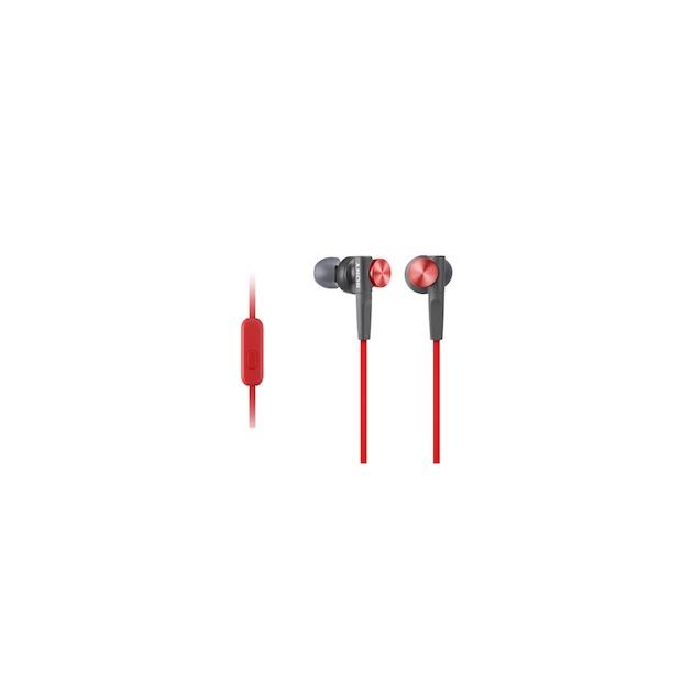 Sony MDR-XB50AP rood