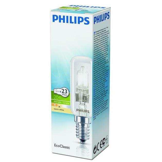 Philips halogeenlamp E14 18W 204Lm buislamp