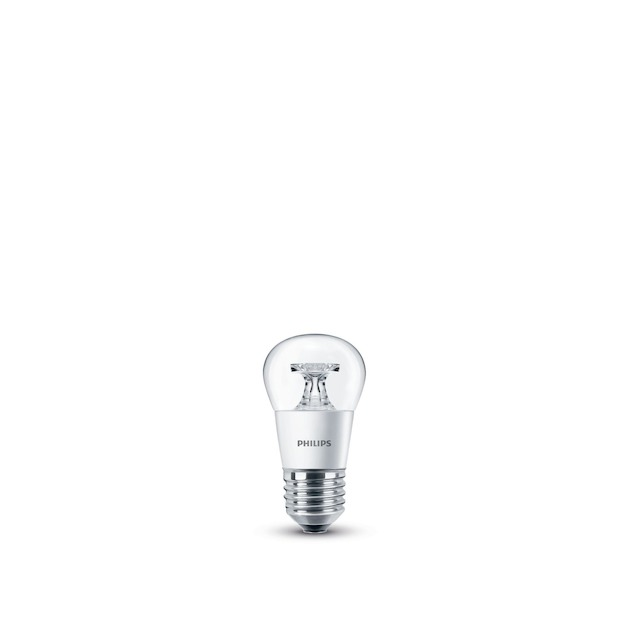 Philips LED lamp E27 4W 250Lm kogel helder