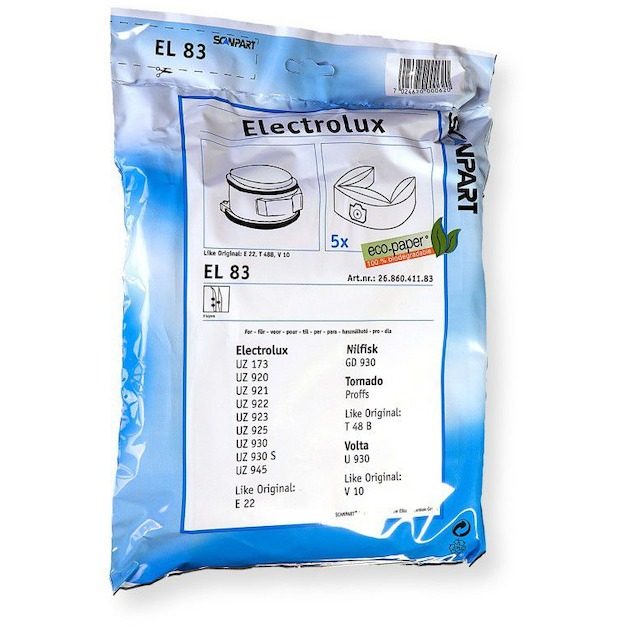 Scanpart stofzuigerzak papier (zakje) E22N