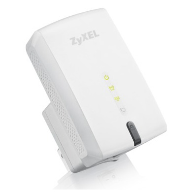 Zyxel draadloze WiFi repeater 450Mbps wit