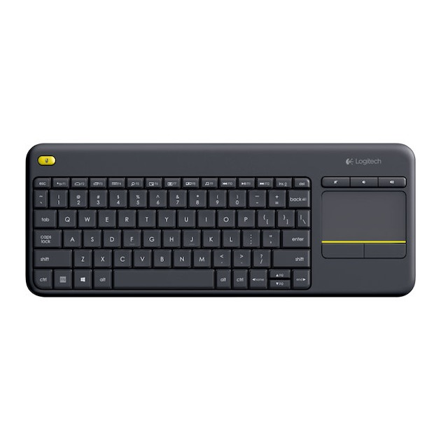 Logitech K400 Plus Wireless Touch (Qwerty)	 Zwart