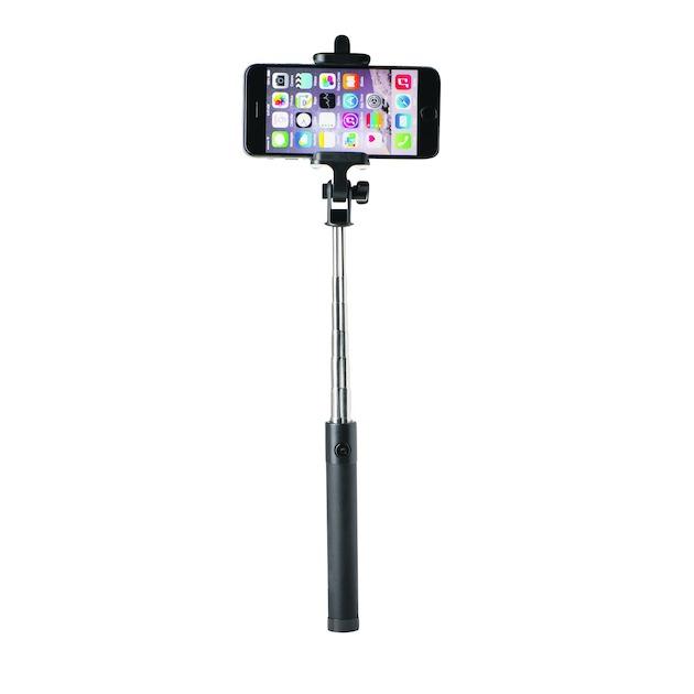 Azuri Selfie Stick Mini II zwart