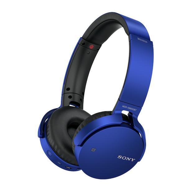 Sony MDR-XB650BT blauw