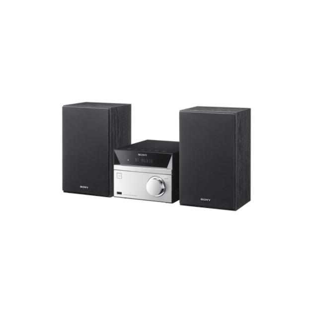 Sony CMT-SBT20 zilver/zwart