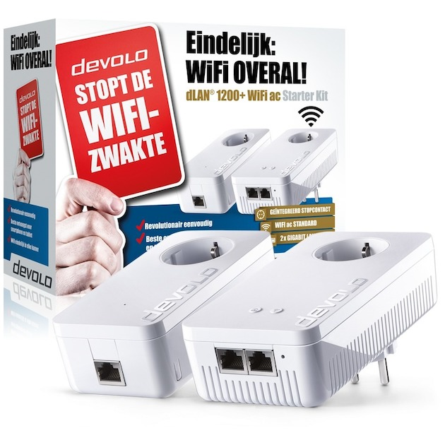 Devolo 1200+ WiFi ac Starter Kit Powerline
