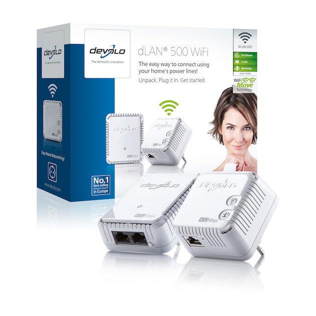 Devolo 500 WiFi Starter Kit Powerline