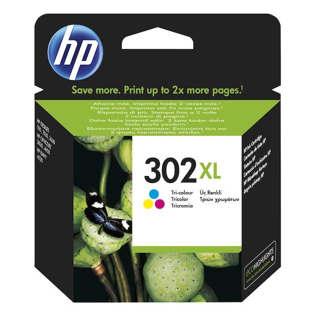 HP 302XL Tri Colour