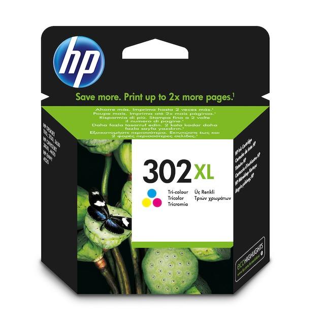HP 302XL Tricolor