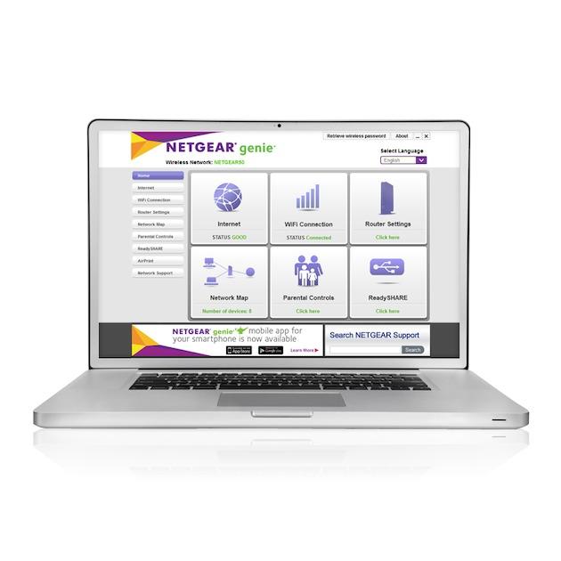 Netgear D7000-100PES