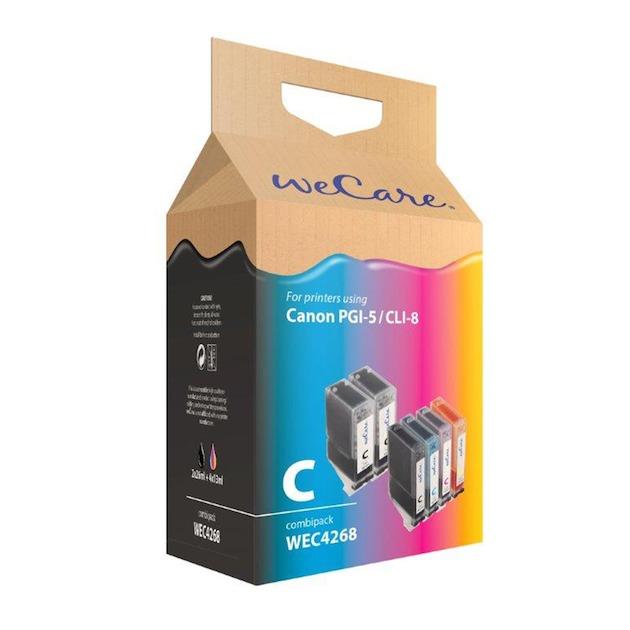 Wecare Canon PGI-5/CLI-8 set A6