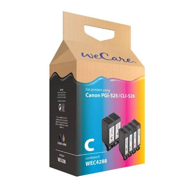 Wecare Canon PGI-525/526 set A6