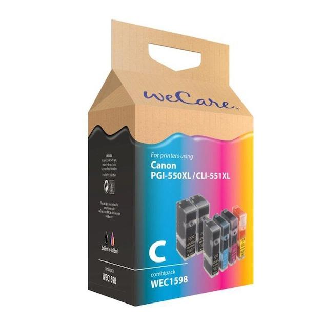 Wecare Canon PGI-550XL/551XL A6