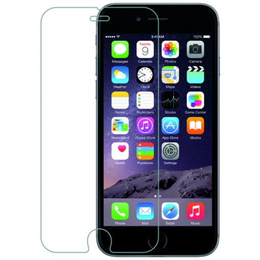 Azuri Tempered Glass Screen Protector voor Apple iPhone 7/8 Plus transparant