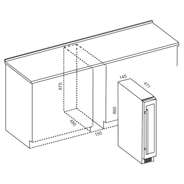 Qlima BWK1607 (inbouw)