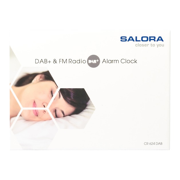 Salora CR624DAB zwart/wit