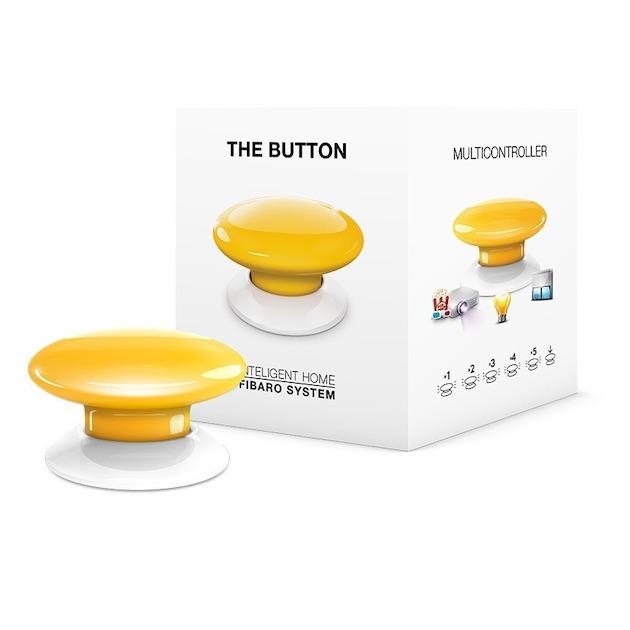 Fibaro The Button geel