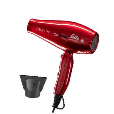 Solis 381 FastDry Fhn  Rood Haardroger rood
