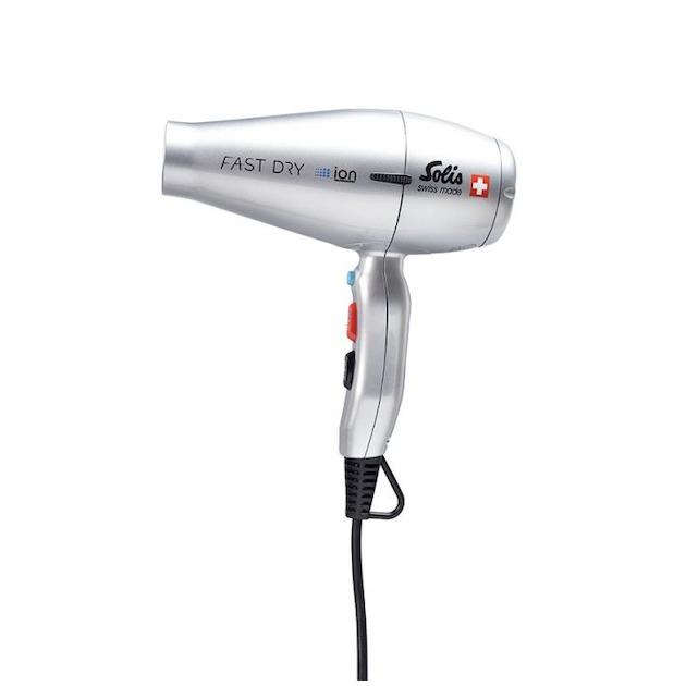 Solis 381 FastDry Fhn  Zilver Haardroger zilver