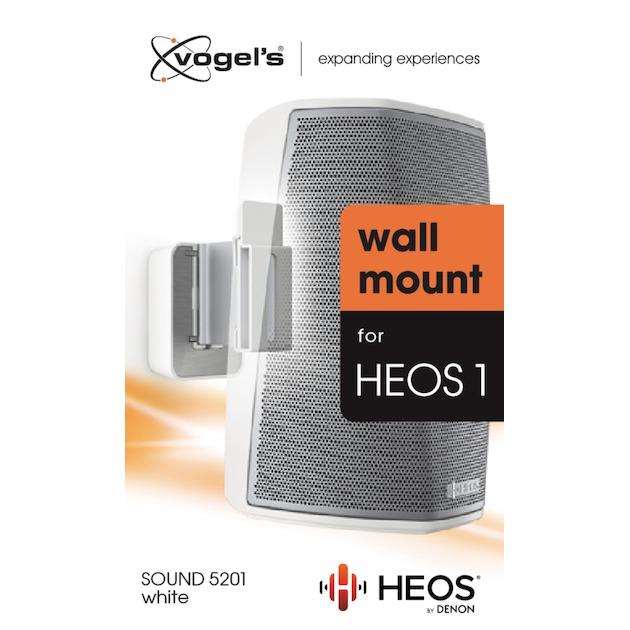 Vogels SOUND 5201 HEOS 1 WALL MOUNT wit