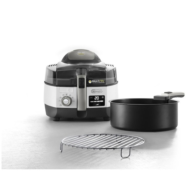 Delonghi FH1396 Multifryer Extra Chef Plus zwart/rvs