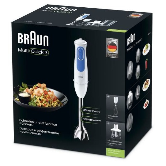 Braun MQ3035WH Sauce