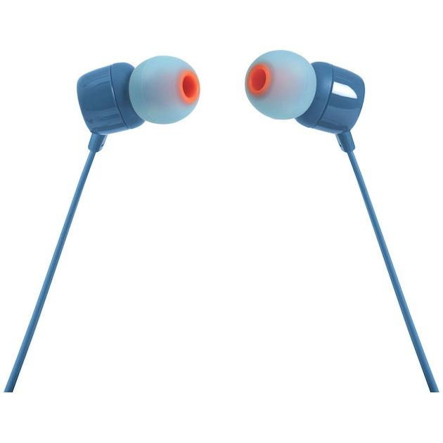 JBL T110 blauw