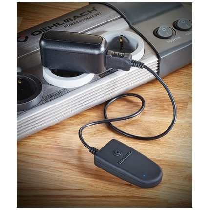 Oehlbach BTT 5000 Compacte Bluetooth-transmitter met aptX-technologie en dual-pairing