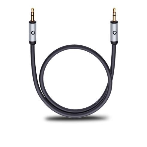 Oehlbach Mobiele audiokabel, 3,5 mm jack naar 3,5 mm jack lengte 3 meter