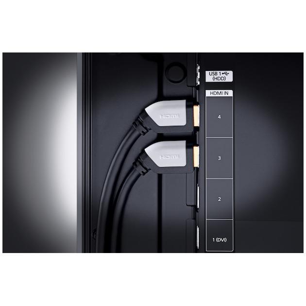 Oehlbach Shape Magic High Speed haakse HDMI-kabel met ethernet lengte 2,2 meter