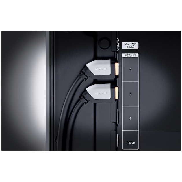Oehlbach Shape Magic High Speed haakse HDMI-kabel met ethernet lengte 3,2 meter