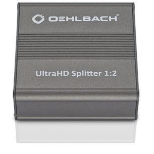Oehlbach HDMI-verdeler voor UltraHD-signalen