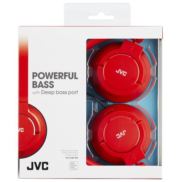 JVC HA-S180-RNE   rood
