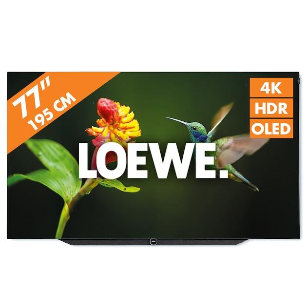 Loewe Bild 7.77 (incl. WM7) grafietgrijs