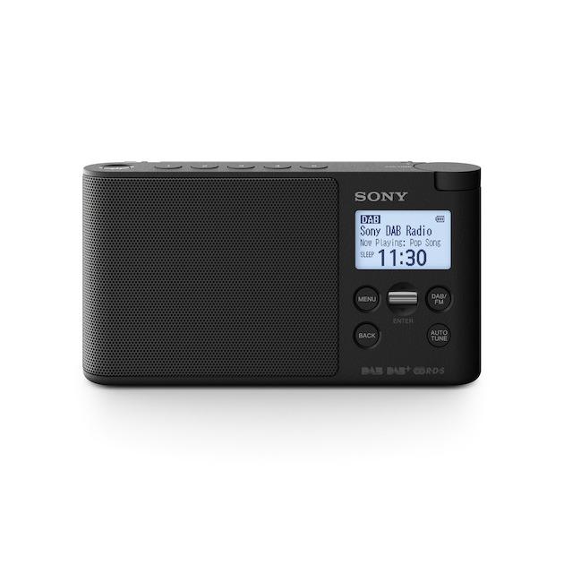 Sony XDR-S41D zwart
