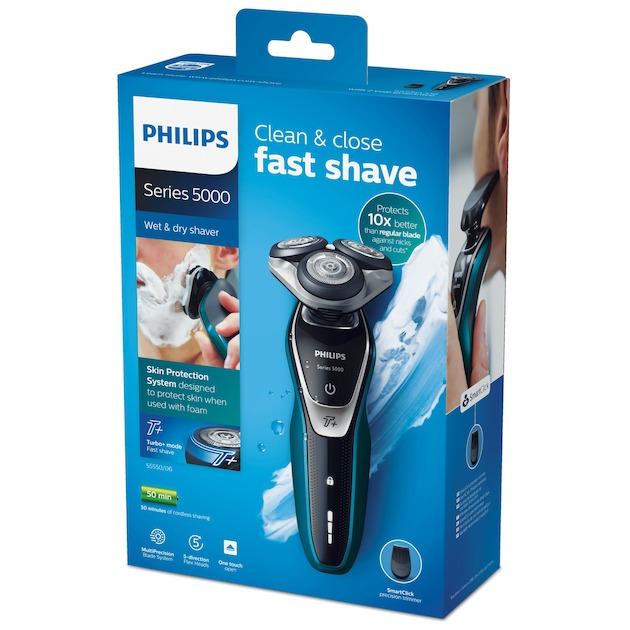 Philips S5550/06 zwart/groen