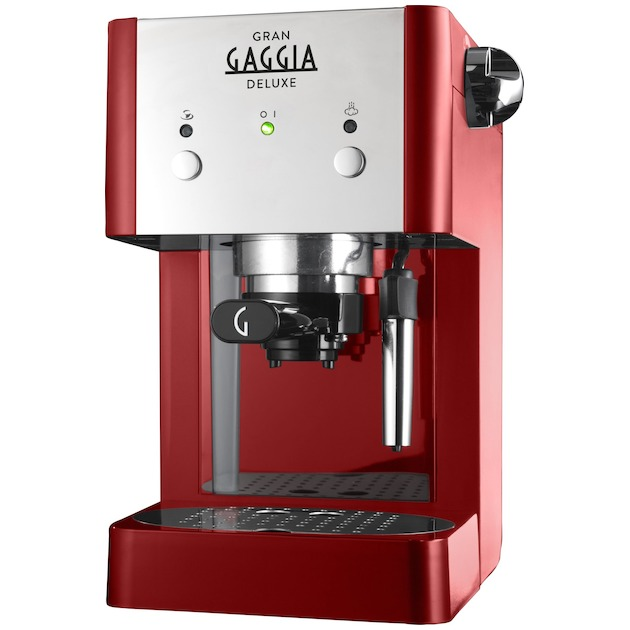 Gaggia Gran Deluxe rood