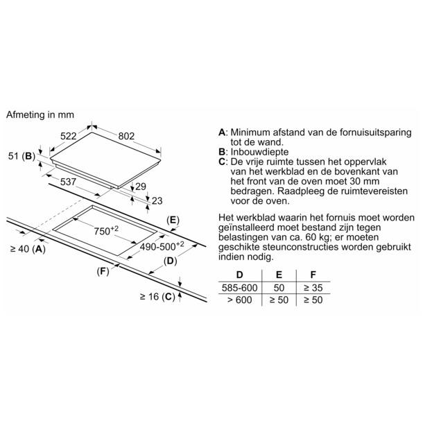 Siemens EX851FVC1E flexInduction