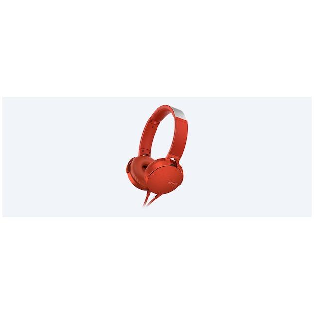 Sony MDR-XB550AP rood