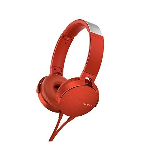 Sony MDR-XB550AP rood