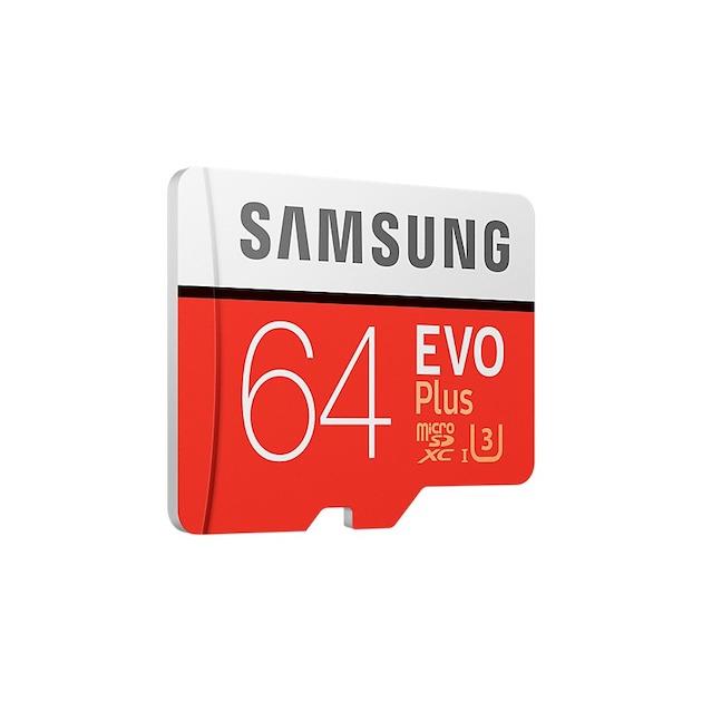 Samsung MicroSD Class 10 EVO+ 64GB