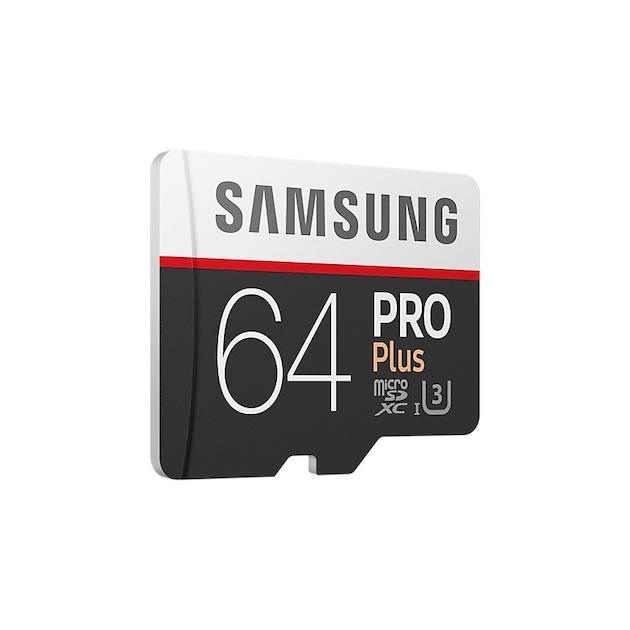 Samsung MicroSD Class 10 PRO+ 64GB