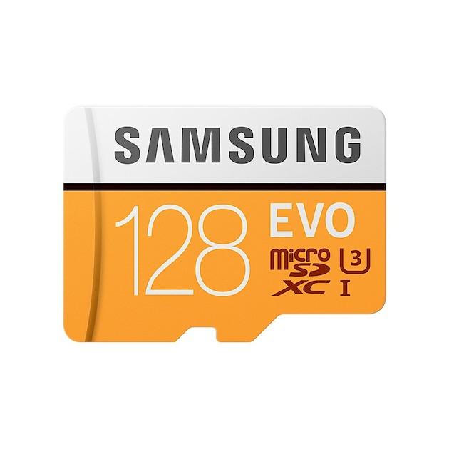 Samsung MicroSD Class 10 EVO 128GB