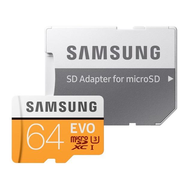 Samsung MicroSD Class 10 EVO 64GB